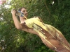 Messy Angel Jess West - Garden Sploshing